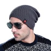 針織毛帽-秋冬時尚五角星加絨男帽子6色73if49【時尚巴黎】