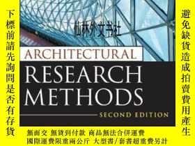 二手書博民逛書店【罕見】Architectural Research Metho