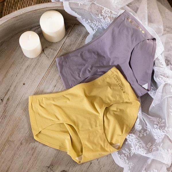 促銷特價 手感超柔內褲女士無痕純棉檔透氣秋冬舒適磨毛保暖包臀中腰三角褲
