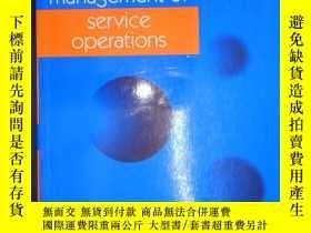 二手書博民逛書店Management罕見of Service Operation