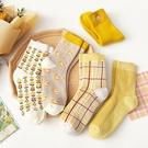 黃色系列小雞加厚大人中筒襪 大人襪 襪子 中筒襪