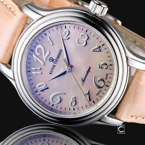 梭曼 Revue Thommen Ladies 優雅自信機械腕錶 12500.2536