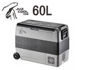 丹大戶外【艾比酷】LG-D60車用雙槽雙溫控冰箱60L(含車用12V插座)