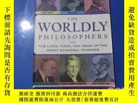 二手書博民逛書店THE罕見WORLDLY PHILOSOPHERS 外文版Y20