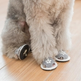 現貨 狗狗涼鞋壹套4只小型犬防水雨鞋寵物透氣鞋子【極簡生活】