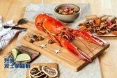 就愛海鮮 組合B(彭湃10人份)龍蝦/草蝦/紅蝦/干貝/鮑魚 聚餐同歡 烤肉煮鍋