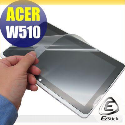 【EZstick】ACER ICONIA W510 專用 靜電式平板LCD液晶螢幕貼 (可選鏡面及霧面)