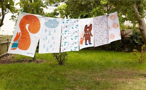 Donna Wilson 小太陽 茶巾 野餐茶巾