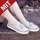 氣質流蘇鞋面設計 採用台日合作的柔軟除臭紗鞋墊 此款包覆性較佳,初期腳背或兩側較貼腳屬於正常現象