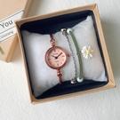 流行女錶 日式極簡手錶學生初高中女ins小眾設計森系少女學院風復古文藝范 店慶降價