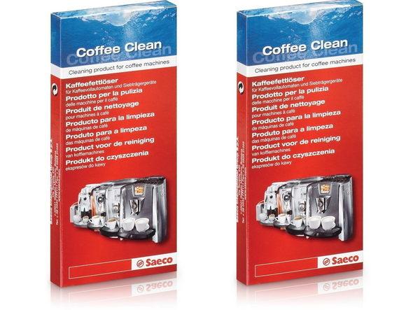 [兩盒裝] 飛利浦 saeco 咖啡機專用清潔錠 油脂清潔錠 CA6704/99
