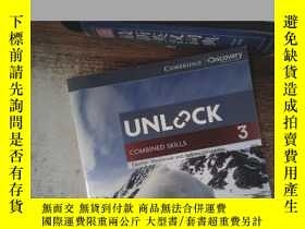 二手書博民逛書店UNLOCK罕見COMBINED SKILLS 3Y198833 出版2014