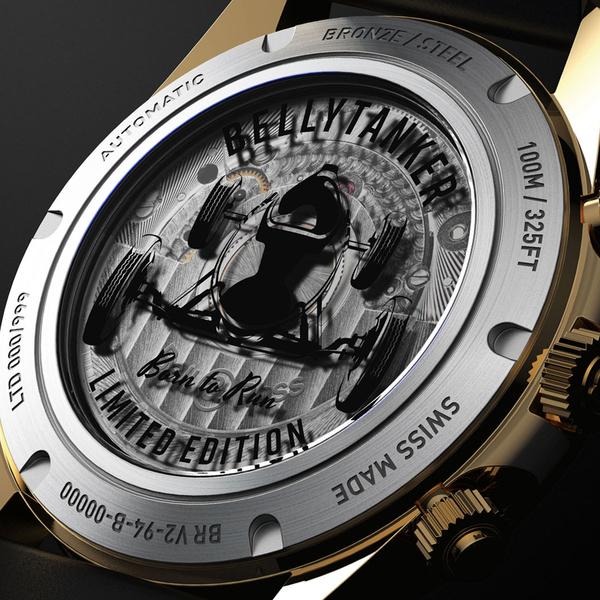Bell&Ross BELLY TANKER青銅復古限量機械錶 BRV294-BC-BR/SCA