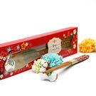 幸福婚禮小物❤幸福來到馬上嫁筷架組---...