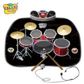 電玩毯兒童幼兒寶寶早教益智架子鼓音樂毯爵士鼓男孩玩具生日禮品 igo