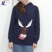 【秋冬新品】American Bluedeer - 小鹿連帽針織上衣 二色