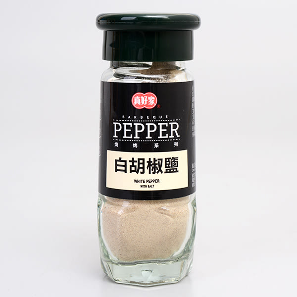 【真好家】白胡椒鹽 60g