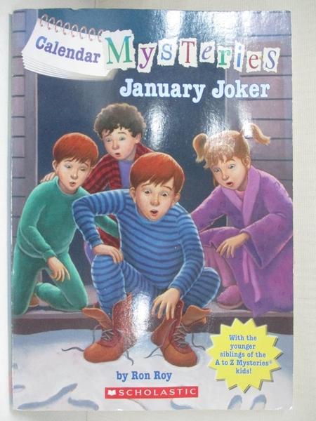 【書寶二手書T1/兒童文學_HZX】Calendar Mysteries January through June_Ron Roy