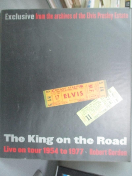 【書寶二手書T8/音樂_WDW】The King on the Road_Robert Gordon