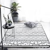 INS風現代臥室床邊地毯加厚地墊滿鋪客廳茶幾防滑家用墊可機洗YYJ 【全館免運】