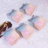 禮盒喜糖禮盒空盒糖果包裝結婚禮新款創意喜糖盒子粉色個性小清新抖音-凡屋