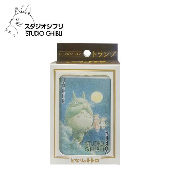 【日本正版】宮崎駿 龍貓 壓克力盒 撲克牌 日本製 豆豆龍 吉卜力 ENSKY - 181956