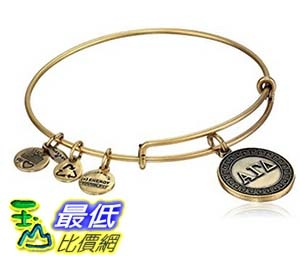 [美國直購] Alex and Ani Sorority Alpha Gamma Delta Expandable Wire Bangle Bracelet 手鐲