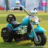 兒童電動車 兒童電動摩托車三輪車小寶寶玩具車可坐人歲女男孩充電遙控車 艾美時尚衣櫥 YYS