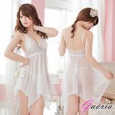 領95紅包潤滑液Gaoria白色透視睡襯衣爆乳薄紗連身衣性感情趣睡衣角色扮演內衣褲成人情趣精品