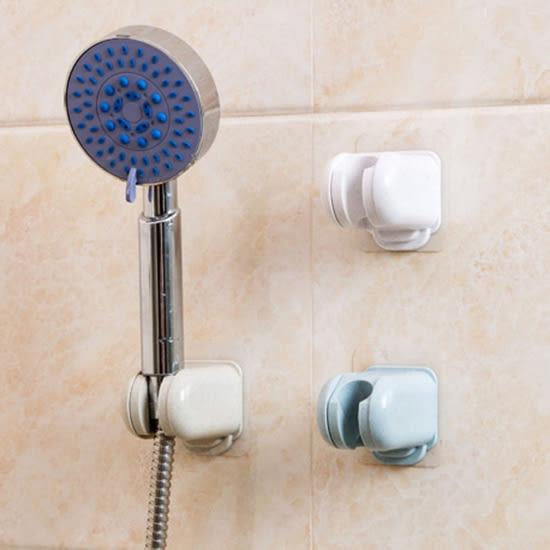 蓮蓬頭支架 免打孔 噴頭底座 花灑 掛勾 無痕貼 淋浴配件 浴室 拖把 掃把 蓮蓬頭架【K046-1】MY COLOR