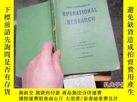 二手書博民逛書店some罕見techniques of operational