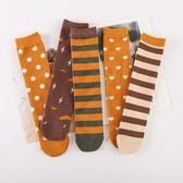 兒童長筒襪子純棉春秋款男童女童小童ins潮無跟中筒小腿襪百搭款