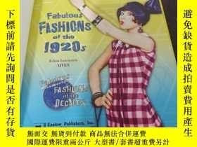 二手書博民逛書店Fabulous罕見FASHIONS of the 1920sY426911