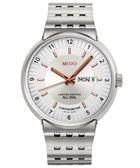 MIDO 美度 All Dial 1918 羅馬競技系列限量機械手錶-銀 M83404121