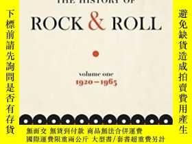 二手書博民逛書店The罕見History Of Rock & Roll, Volume 1Y364682 Ed Ward Fl