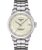 TISSOT 天梭 T-Classic Luxury 天文台認證機械手錶-銀 T0862081126100