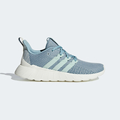 Adidas Questar Flow [F36260] 女鞋 運動 慢跑 休閒 緩震 舒適 健身 輕量 愛迪達 灰藍