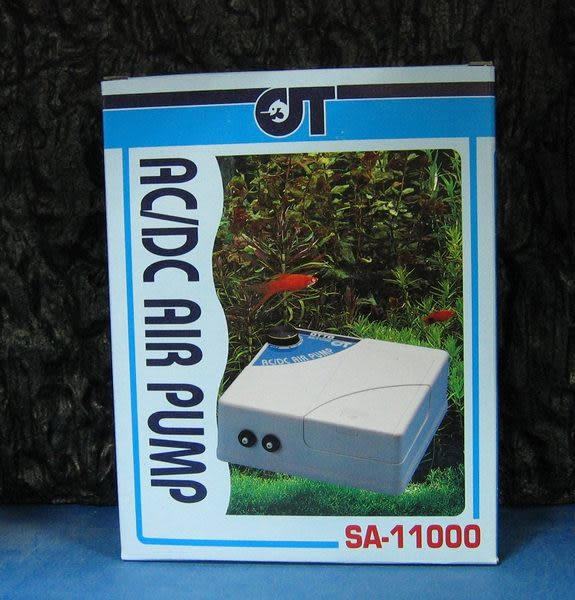 【西高地水族坊】OTTO奧圖 專業型空氣幫浦(SA-11000)不斷電自動打氣AC/DC