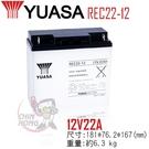 湯淺 REC22-12  電霸更換電池 ...