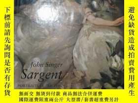 二手書博民逛書店John罕見Singer Sargent: Portraits