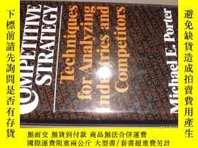二手書博民逛書店Competitive罕見Strategy: Technique