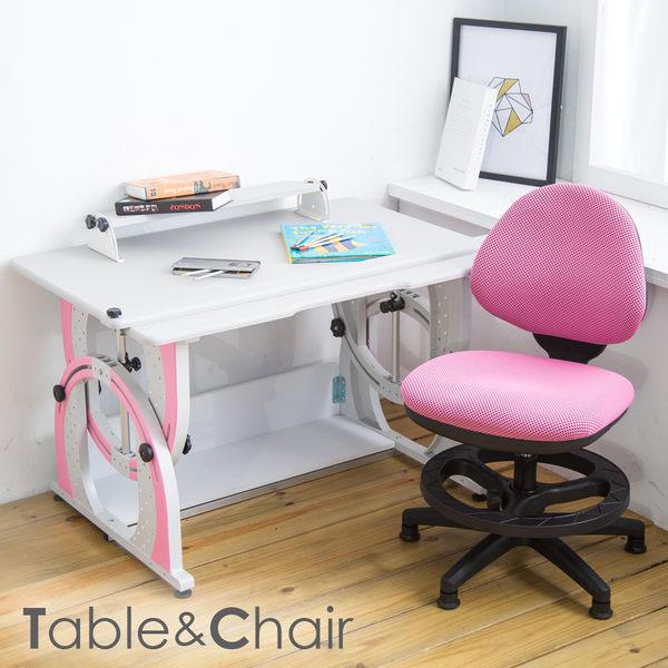 【時尚屋】[2X6]瓦爾特兒童伸縮成長書桌椅組DE-100+411S可選色/免運費/台灣製/兒童書桌