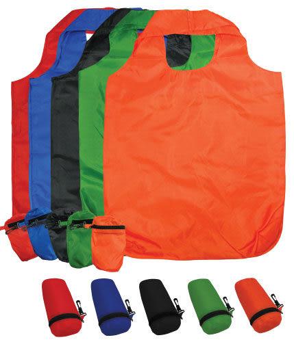 【客製化】 折疊圓筒購物袋(抽繩式) W 425 x H 650mm 尼龍袋 環保袋 Bag (S1-A) S1-01009