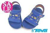 TEVA 男童涼鞋 小螃蟹 護背 雙調節 PSYCLONE 4 運動涼鞋 零碼出清 I6547#藍色◆OSOME奧森鞋業