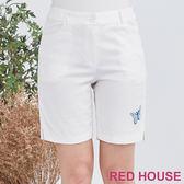 Red House 蕾赫斯-蝴蝶短褲(白色)
