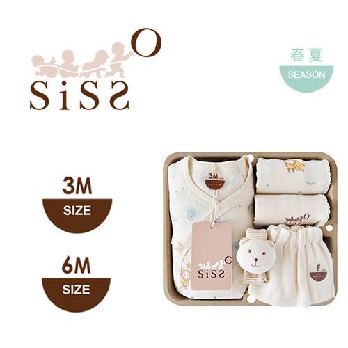 【SISSO有機棉】雲朵飛飛蝴蝶裝禮盒 3M 6M