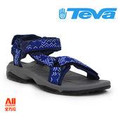 【Teva】男款 TERRA FI LITE織帶機能運動涼鞋 - 藍 (1001473KNY)【全方位運動戶外館】