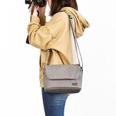 相機包 單肩相機包便攜佳能尼康索尼數碼單反鏡頭攝影包收納袋微單相機套  卡洛琳