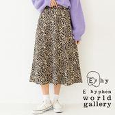 ❖ Spring ❖ 豹紋圖案喇叭中長裙 - E hyphen world gallery