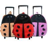 兒童玩具拉桿箱幼兒園書包男寶寶拉桿旅行箱女孩收納包毛絨玩具